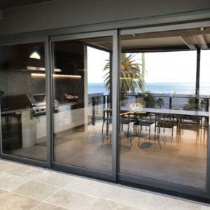 Residential Aluminium Sliding Doors At Geelong's Eastern Beach